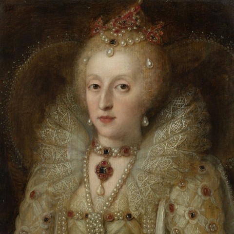 Queen Elizabeth I of England, 1550–99, Image via the Rijksmuseum Museum