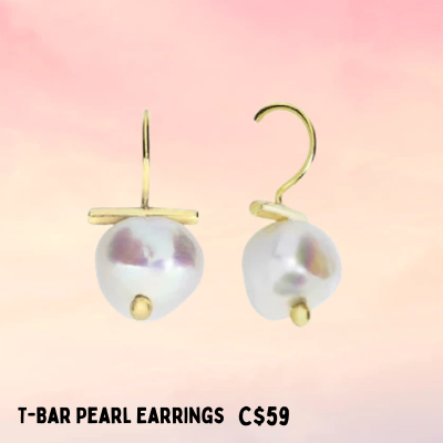 pearl earrings for sale perfect gift for Mom Ottawa