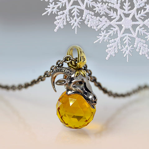 Stephen Webster Astro Ball Pendant Capricorn Crystal Necklace Ottawa