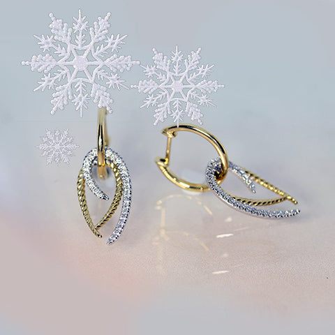 diamond earrings two tone clickers for sale ottawa piercings