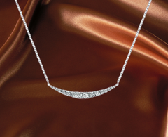 diamond necklace white gold for sale ottawa