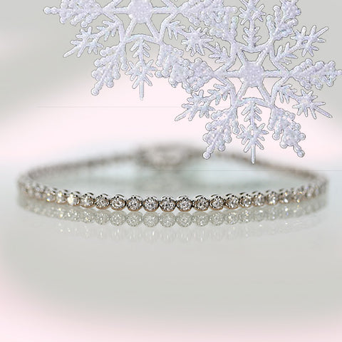 beautiful diamond tennis bracelet on sale ottawa gatineau christmas