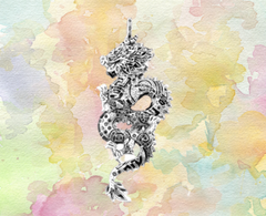 dragon pendant 925 sterling silver for sale ottawa