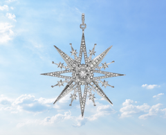 northern star cz pendant christmas downtown ottawa