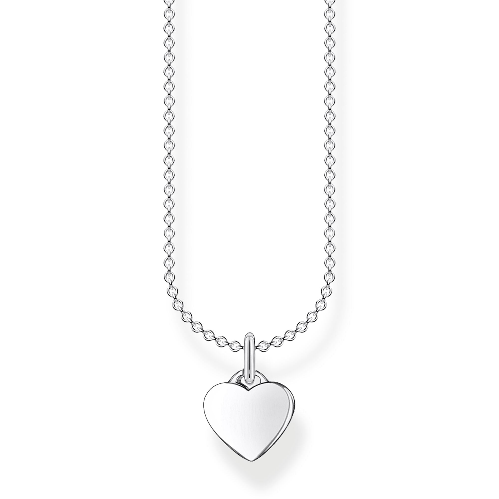 Thomas Sabo Sterling Silver Heart Pendant Necklace