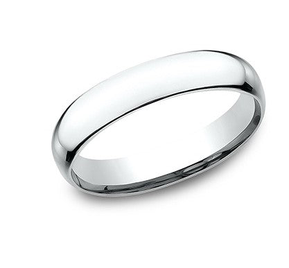 4mm Platinum Standard Comfort Fit  Ring