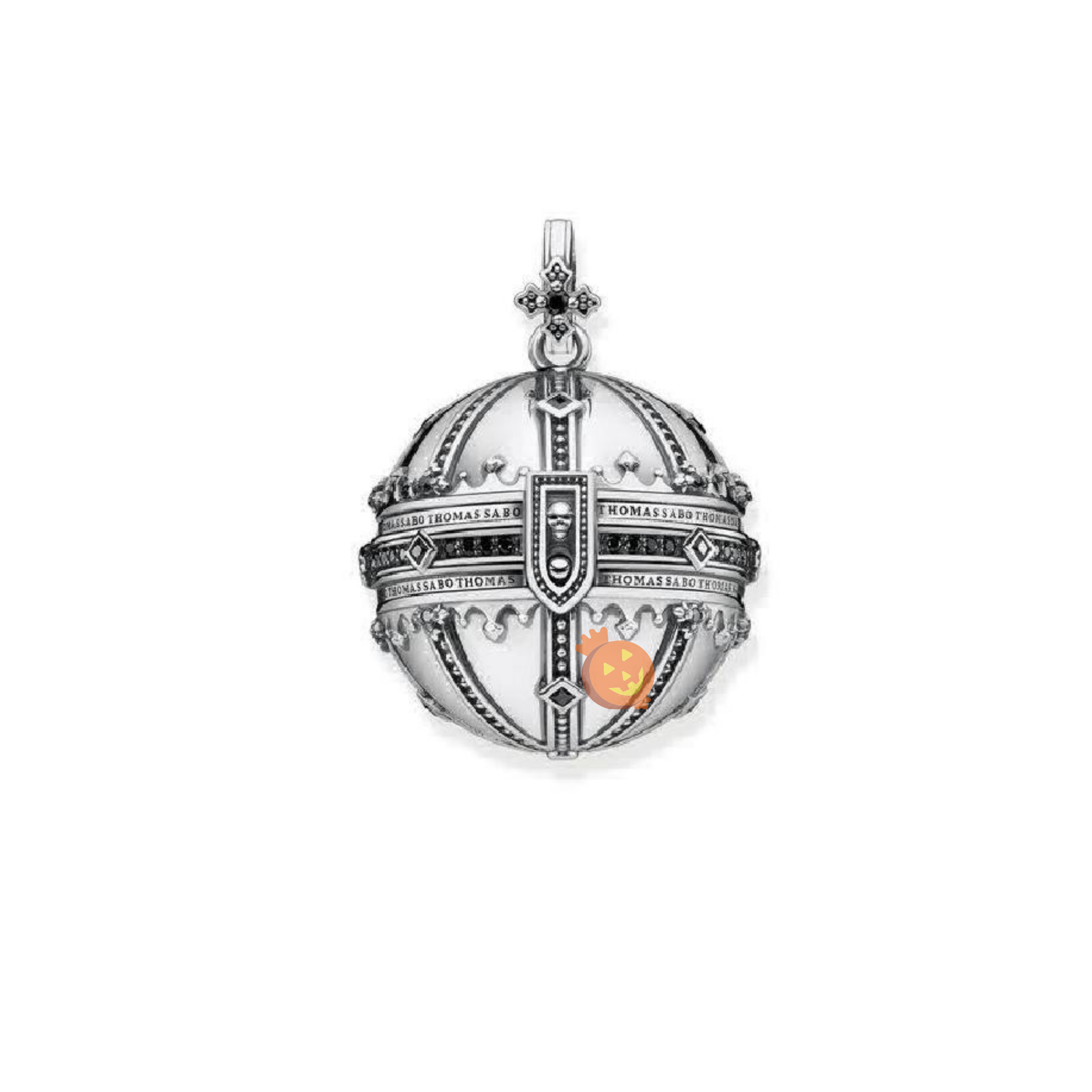 Thomas Sabo Sterling Silver Royalty Orb Pendant
