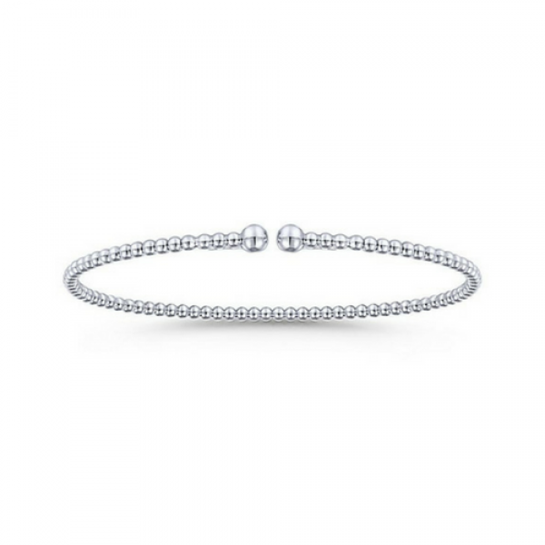 Gabriel & Co. 14k White Gold Bangle