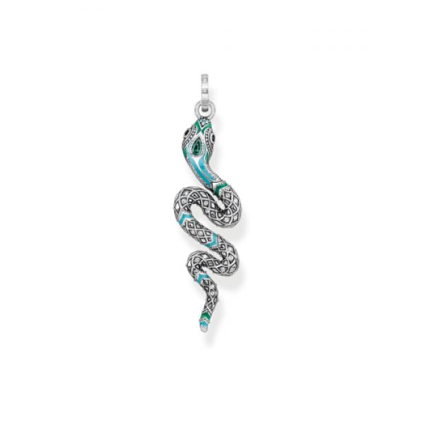 Thomas Sabo Snake Pendant in Sterling Silver