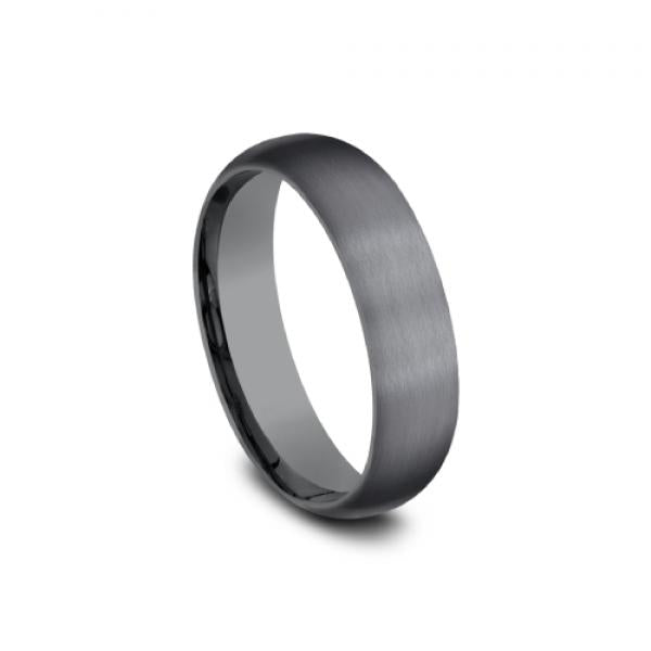 Benchmark Men's 6mm Satin Finish Wedding Ring