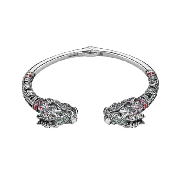 Thomas Sabo Chinese Dragon Bangle in Sterling Silver