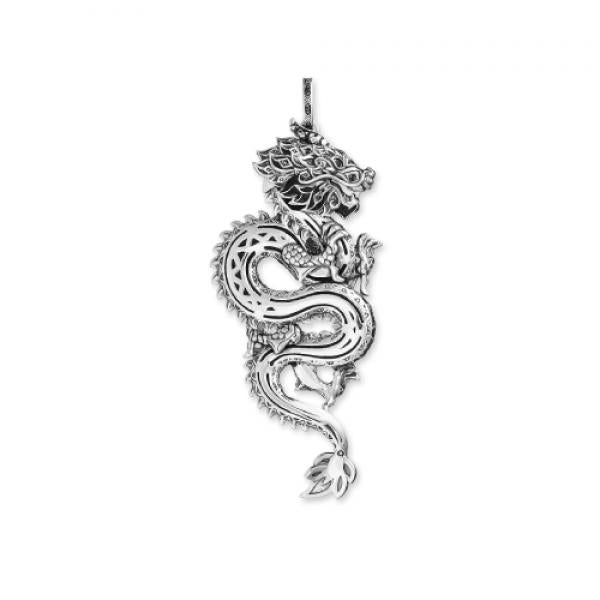 Thomas Sabo Chinese Dragon Pendant in Sterling Silver