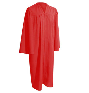 robe-universitaire-gospel-toge-diplome-rouge-mate-maison-du-diplome-honorys-diplomissimo