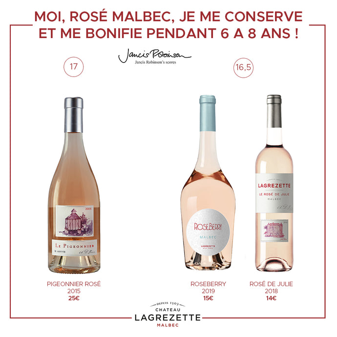 Our Rosés signed by the A.D.P family