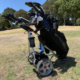 36 holes TopCaddy P1 Electric Golf Trundlers