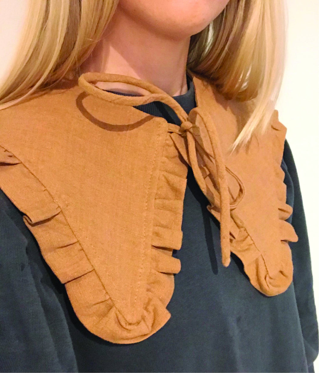 Detachable Collar - Margot Mummy collar - Dark Copper