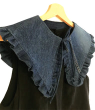 Load image into Gallery viewer, RE:LOVED Margot Mummy Collar - Dark Denim