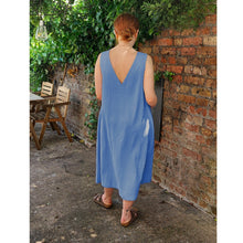 Load image into Gallery viewer, Nursing & Maternity Dress - Lucy - Cornflower Blue