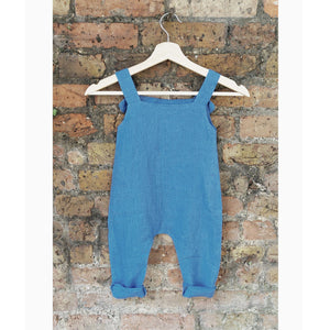 Mini Me Romper - Cornflower Blue