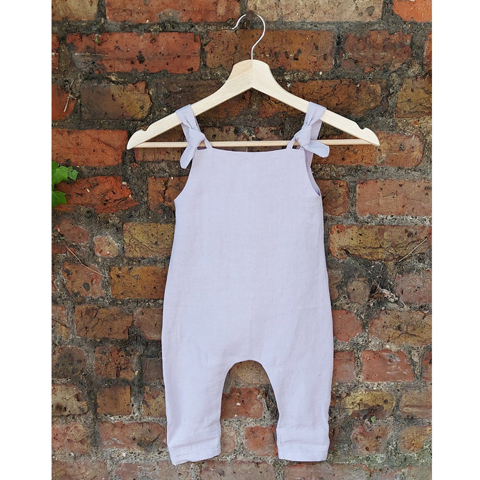 Baby Romper | Lilac | Breast Dressed