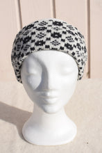 Load image into Gallery viewer, Headbands with 'Crown and the Goose Eye' pattern