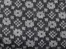 Load image into Gallery viewer, Modern sweater with the faroese pattern: 'Crown and the Goose Eye'(model 359)