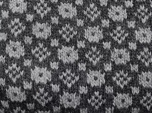 Modern sweater with the faroese pattern: 'Crown and the Goose Eye'(model 359)