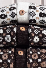 Load image into Gallery viewer, Open sweater in multiple colours and faroese pattern