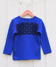 Load image into Gallery viewer, Smart children's sweater with faroese pattern