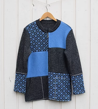 Load image into Gallery viewer, Jacket with faroese pattern and modern design (model 358)