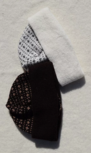 Load image into Gallery viewer, Beanies with the 'the hen's poke' pattern