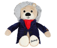 Load image into Gallery viewer, Musical Bear - Ludwig or Amadeus