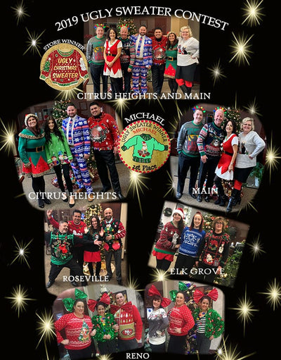 2019 Ugly Christmas Sweater Contest Winners