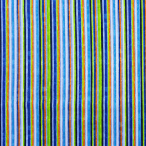 Fabric - Patchwork 360 Skate Stripe Multi
