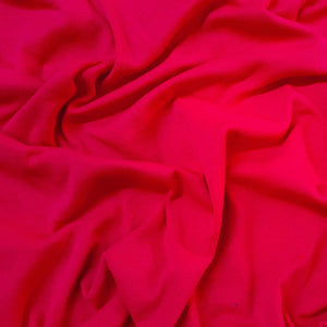 Fabric - Basics Ribbing Tube Cerise Pink