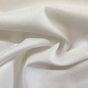 Fabric - Linen Milan Off White Ivory
