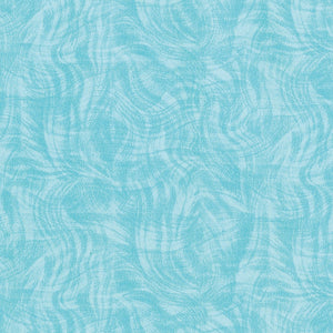 Fabric - Blenders Impressions Moire Blue Blue