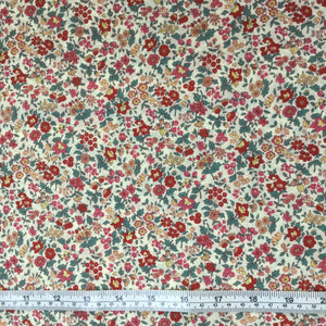 Fabric - Patchwork Memoire 2017 Floral Red Mint