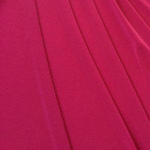 Fabric - Knit Poly Spandex Hot Pink