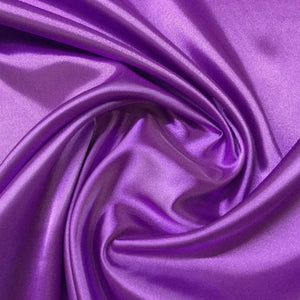 Fabric - Satin Satin 112 Orchid Purple