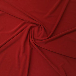 Fabric - Knit Poly Spandex Red