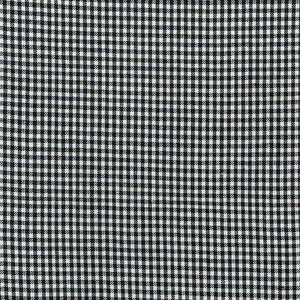 Fabric - Basics Gingham Cotton 3mm Black Black