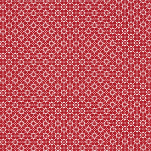 Fabric - Blenders Quilters Basic Memory Red 409 Red