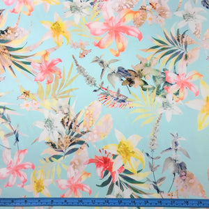 Fabric - Cotton Spring Fling Blue