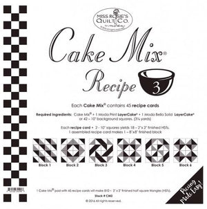 Patterns Cake Mix Recipe Set 3