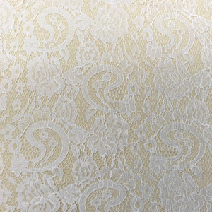 Fabric - Bridal Lace Chantilly Lace Ivory Ivory