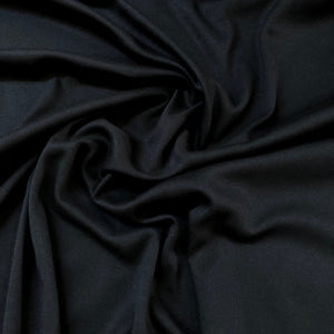 Fabric - Knit Melinda Black Black