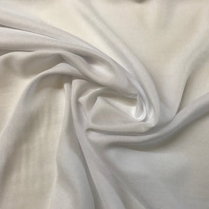 Fabric - Basics Rayon White White