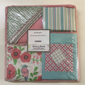Patchwork Kits Pretty Picture Kwik Kit Quilt Kit Multi