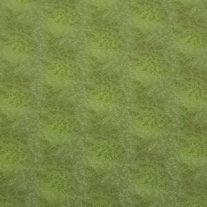 Fabric - Quilt Backing Chantille Olive Green Green
